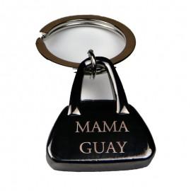 Llavero bolso acero personalizado